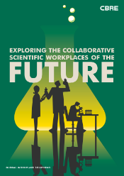 CBRE iLS - Collaborative Scientific Workplaces cover